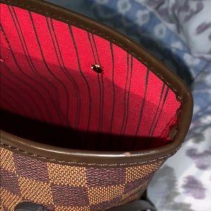 Louis Vuitton Bags - Louis Vuitton   Lv Neverfull Mm: Brown/red